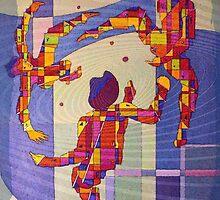 Juggling balls foot by RaynaldMarcoux