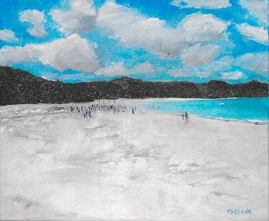 Whitehaven Beach by ltassone
