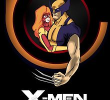 Bob Peak Inspired Xmen Poster by PMckennaDesigns