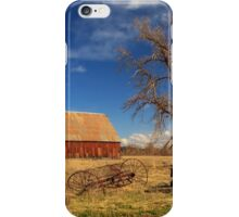 Old Barn In Chester iPhone Case/Skin