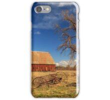 Old Barn In Chester iPhone Case/Skin