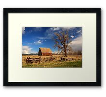 Old Barn In Chester Framed Print