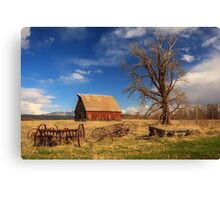 Old Barn In Chester Canvas Print