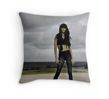 Candid Heart Throw Pillow