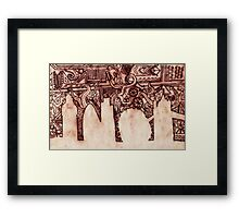 Iron London Framed Print