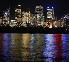 Sydney at night by ZUDOO