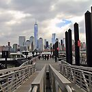 Paulus Hook Ferry Slips Jersey City NJ by pmarella