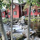 Flowing  Clear in Lillehammer by Larry Lingard-Davis