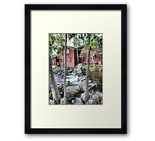 Flowing  Clear in Lillehammer Framed Print