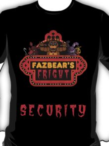 Five Nights at Freddy's Fazbear's Fright Security T-Shirt