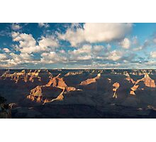 Temple Clouds – Grand Canyon National Park, Arizona Photographic Print