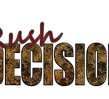 Rush Decision Acid Cheese by zysis