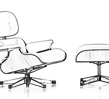 Eames Lounge Chair by Susan Schell