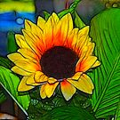 Silk flower in Fractalius by Jawaher