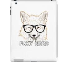 Foxy Nerd iPad Case/Skin