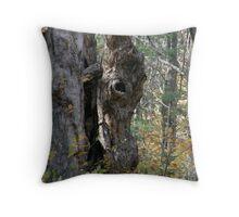 Donkey Tree Throw Pillow