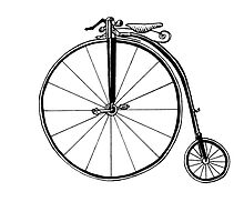 Penny Farthing Bicycle by Lagoldberg28