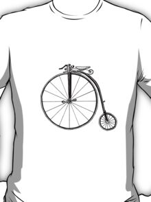 Penny Farthing Bicycle T-Shirt