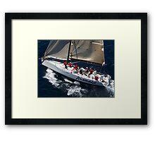 """""""Ausmaid"""" Solitary Islands Race Framed Print"""
