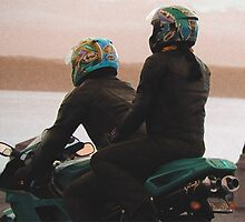 Alki Motoring by Laurel  Coleman