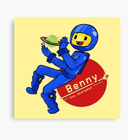 Benny the Spaceman Canvas Print