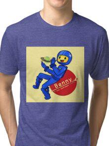 Benny the Spaceman Tri-blend T-Shirt