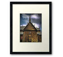 Saving Souls in Gothica Framed Print