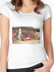 Route 66 Corvette Women's Fitted Scoop T-Shirt