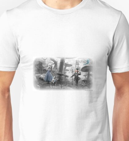 The Lost, Late, Mad, and Wise of Wonderland Unisex T-Shirt
