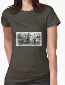The Lost, Late, Mad, and Wise of Wonderland Womens Fitted T-Shirt