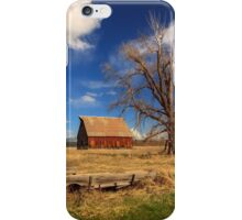 Old Barn And Wagon iPhone Case/Skin