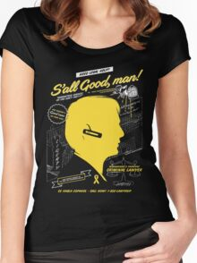 S'all Good, man! Women's Fitted Scoop T-Shirt