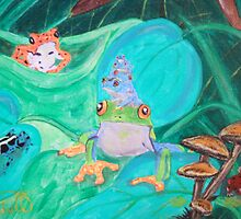 Frogs by cdcantrell