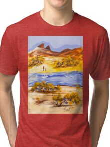 The river Tri-blend T-Shirt