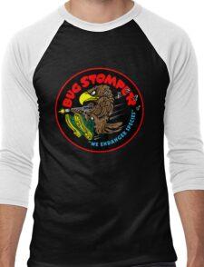 Bug Stomper Men's Baseball ¾ T-Shirt