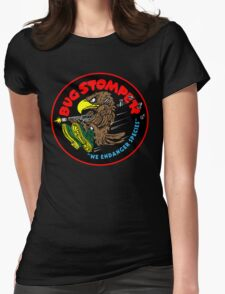 Bug Stomper Womens Fitted T-Shirt
