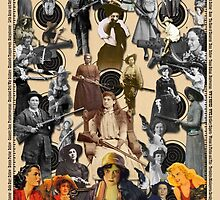 Outlaws and Sharpshooters by Donna Catanzaro