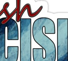 Rush Decision Deep Rush Blue Sticker