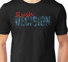 Rush Decision Blue Slate Unisex T-Shirt