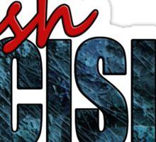 Rush Decision Blue Slate Sticker
