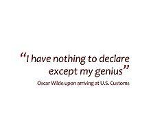 Declaring genius... (Amazing Sayings) by gshapley