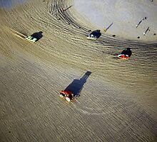 Sand racing, Guernsey by Kevin Lajoie