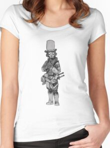 Scared Samurai Women's Fitted Scoop T-Shirt