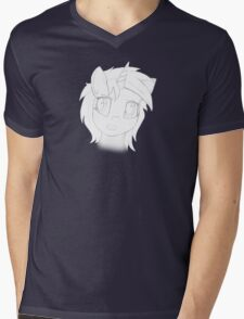 Vinyl Scratch sketch - Design 1 - Mens V-Neck T-Shirt