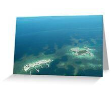 Abrolhos Islands, WA Greeting Card