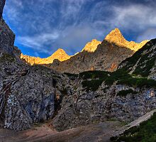 First Light on the Cirque by Erin Butler