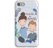 Morder es amar iPhone Case/Skin