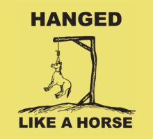 Hanged Like A Horse by Stangus