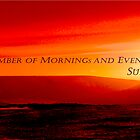BANNER ...RED SUNRISE by Athanassi