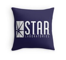 S.T.A.R. Laboratories Throw Pillow